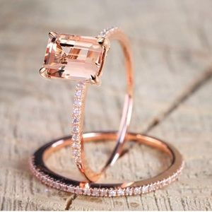 Jewelry - SALE 💎 Rose Gold Plated Ring NEW